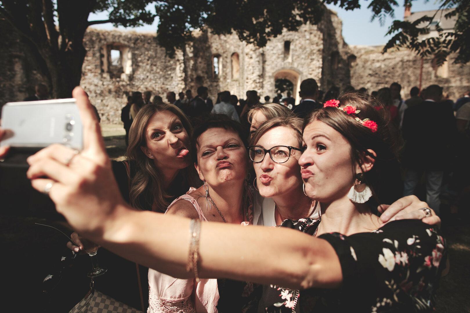 selfie des copines