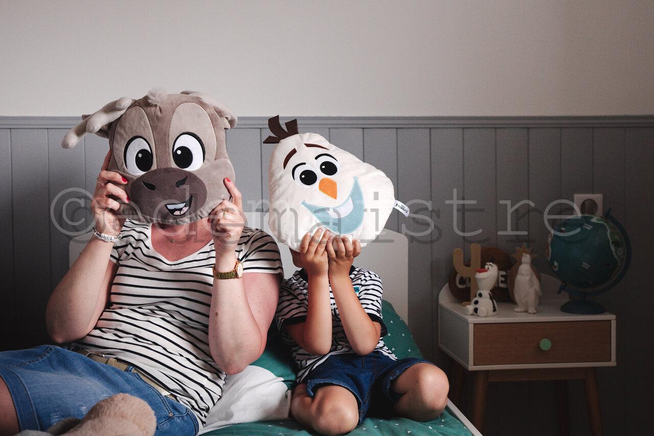 masques dans la chambre
